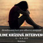 chcem sa zabiť - online krízová intervencia